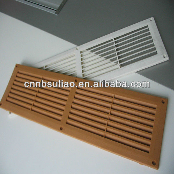 Linear Diffusers And Grilles : Linear air grille plastic diffuser view