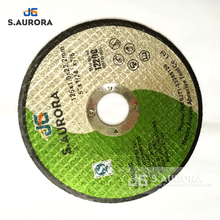 MPA certificated 125x1x22mm abrasives supper thin cut off wheel for multi-function