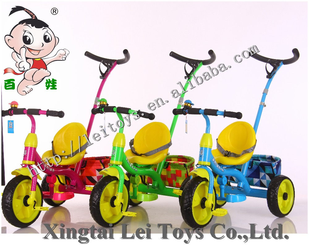car type metal material ride on toy ride on car 2 in 1children bicycle tricycle,baby trike push and foot power with safe belt