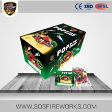 pop pops fireworks machine wrapping machine using chinese firecrackers