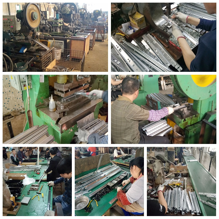 Heavy-duty Synchronous Ball Bearing Table Slide (extension table mechanism)