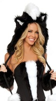 RTNZ-052yiwu caddynew design charming dress Adult Sex fur Cat Costumes animal sexy costume