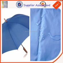 Wholesale 210t PU umbrella fabric 100% polyester taffeta with pu coating 2000mm W/P china suppliers waterproof textile