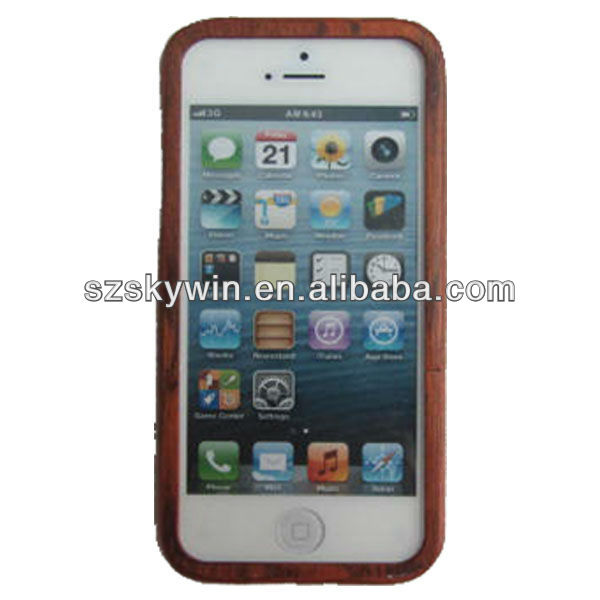 2013 new design for samsung galaxy s4 bamboo case cover