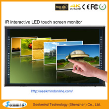 "65""inch LCD multi touch screen Dispaly Infrared technology"