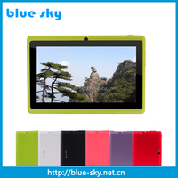 Newest 7 Inch Cheap ce fcc rohs tablet pc support Skype Video Call With Wifi Android 4.4 OS
