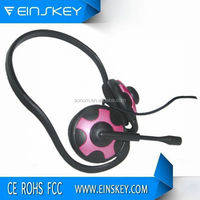 Top quality super bass plastic moulding headphones with clear sound