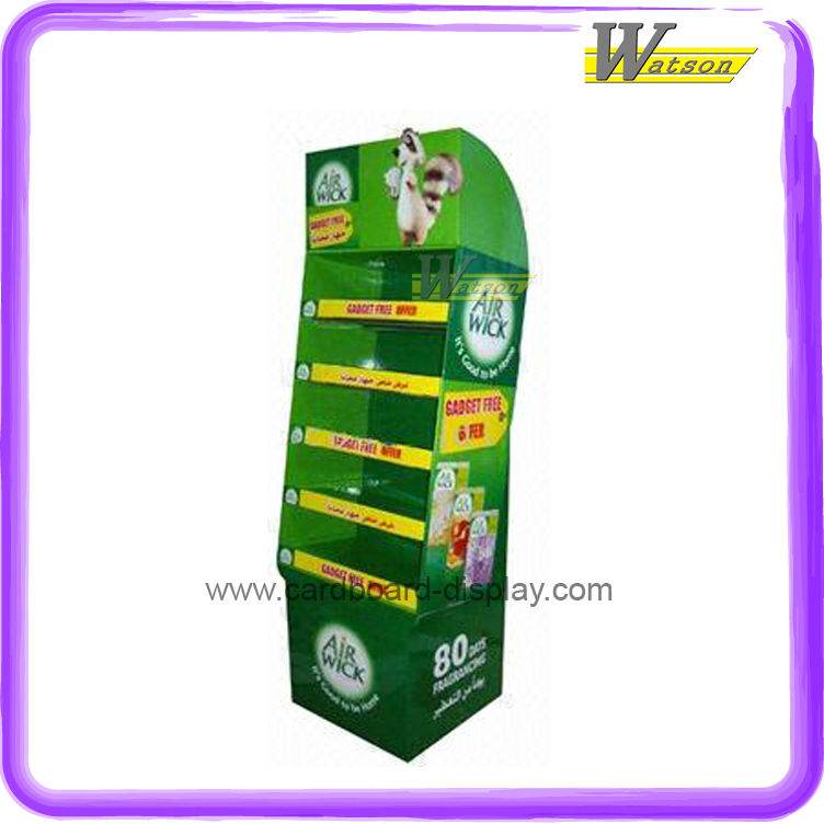 Corrugated Cardboard Display Rack for Air Fresheners