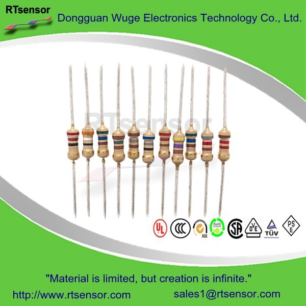 General Purpose Linear Leaded Fixed Carbon Film 4.7K ohm 5K ohm 47K Resistor