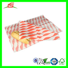 D326 Greaseproof Wax Paper Food Grade Burger Wrapping Paper