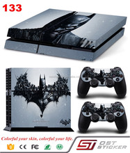 Custom for ps4 vinyl sticker Vinyl material console skin for ps4 controller