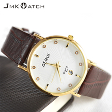 OEM man japan movt quartz watch stainless steel back leathe classic watch