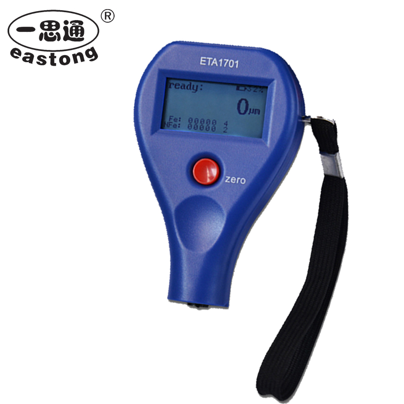 ETA-1701 High Quality Portable Galvanized Coating Thickness Gauges Digital Paint Test Instrument elcometer thickness gauge