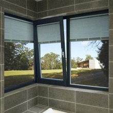New design Tilt turn type vinyl glass window PVC window