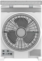 "EK-EL806- 8"" Emergency Rechargeable fan w/USB charging - CB/VDE approved"