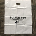 personalized plastic wholesale goodie bags with die cut handles