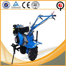 Practical hand operated farm equipment mini tractor