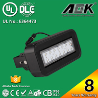 UL DLC cUL TUV GS CE RoSH SAA 8 years Warranty 10w rechargeable led flood light with 120lm/w