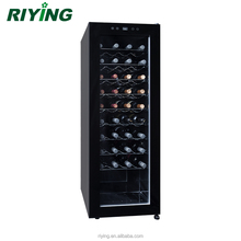 36 Bottles Wine Display Fridge Compressor Wine Cellar