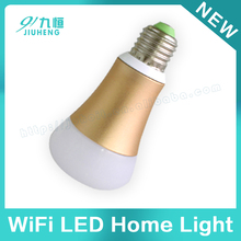 intelligent wireless control e27 led bulb wifi home lighting