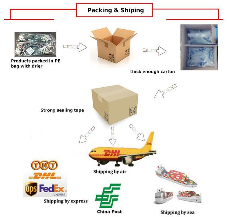Design & manufacture Rigid flexible pcb FPCB