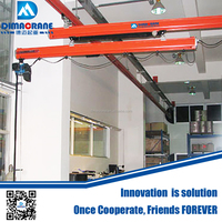 KBK model telescopic beam type light overhead crane system