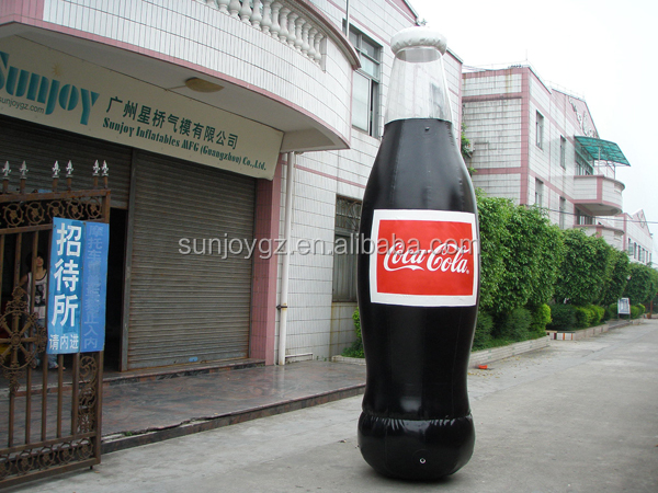 Sunjoy Advertising Inflatable Bottle Shape for Promotion Activities