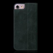 Handmade Wallet Leather Case for iPhone 8 Flip Case