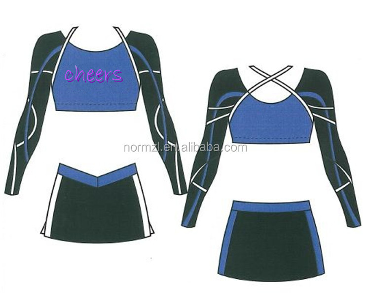 latest dress for cheerleader sexi school girl costume cheer uniforms for kids