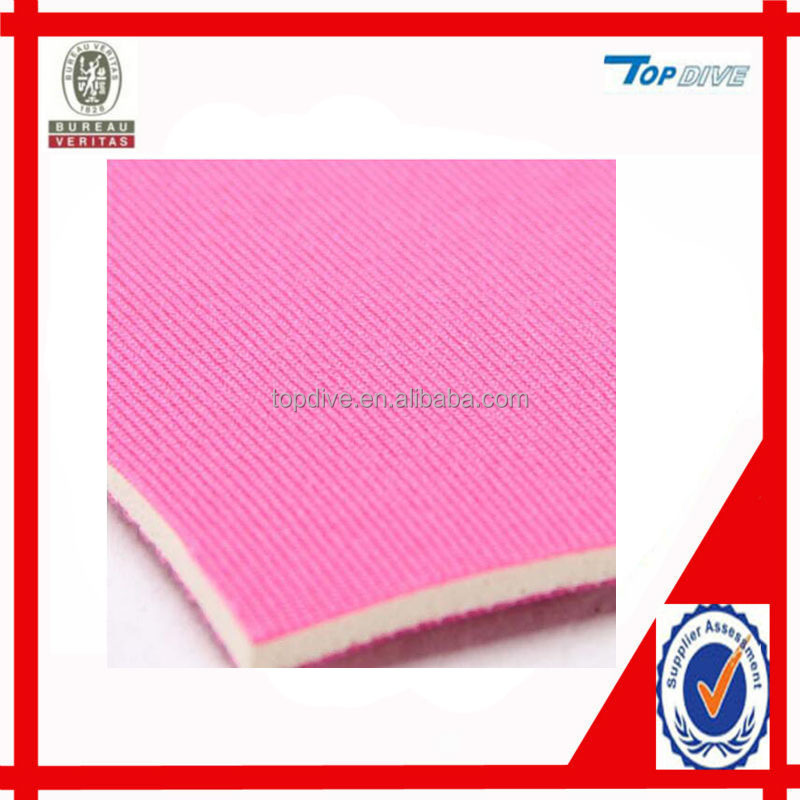Wholesale elastic SBR laminated neoprene fabric