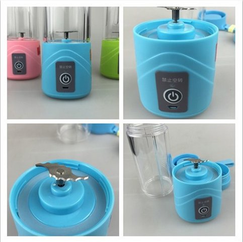 380ml capacity fruit PC material multifunction mini electricity juicer
