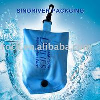BLUE folding shopping bag