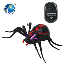 popular item simulation design children rc spide plastic insect toy with high quality