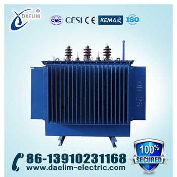High Reliability 11KV Rational In Economical Indexes 630KVA Power Transformer