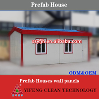 2016 China Cheap Prefab Houses wall panels for refugee quick instllation