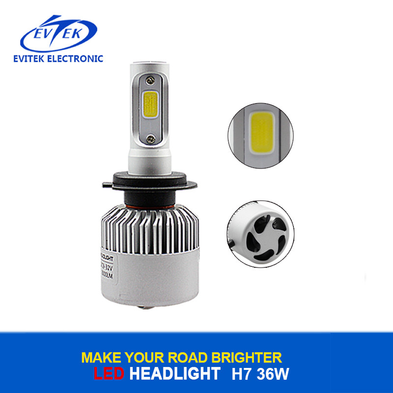 12V 24V 6500K 8000LM Car Headlight Led H7 COB 60W H4 S2 Car Led Headlight H11 H7 Led Car Lights Bulb