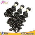 XBL human virgin Brazilian hair very soft tangle free 8A grade loose body wave for black woman
