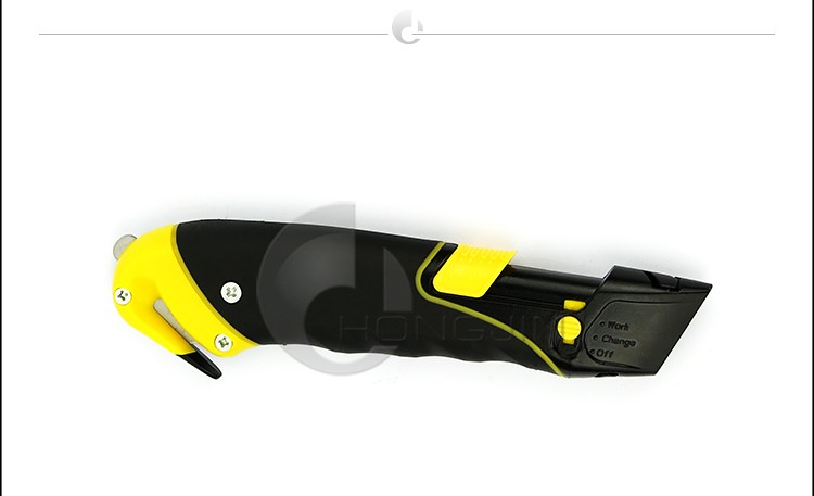 Auto-retract Safety Knife with Rotary Blade / Heavy Duty Box Cutter