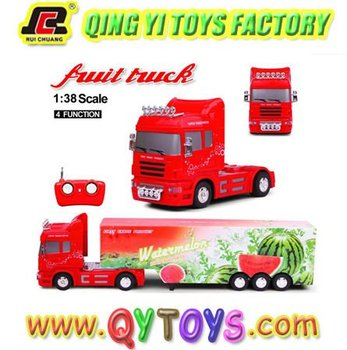 4 function fruit r c toy 1:38