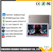 "Original 10.1"" AM1006 Android Tablet PC 1024x600 Quad Core 2.0MP Camera 1GB RAM 8GB ROM Phone Call Android 4.4 Dual Sim Tablet"