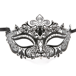 High Quality Halloween cool masquerade party metal mask