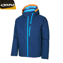 Waterproof windproof outdoors crane ski jacket,ski Jacket men,summit ski jacket with fixed hood