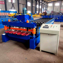 corrugated metal iron roofing sheet roll forming making machine