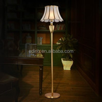 Copper European noble floor lamp LED light