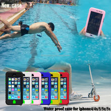 Phone case,waterproof hard case for iPhone 4 4s 5 5s 5c