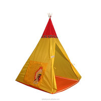 Children Outdoor Camping House Easy Up Tipi Tents