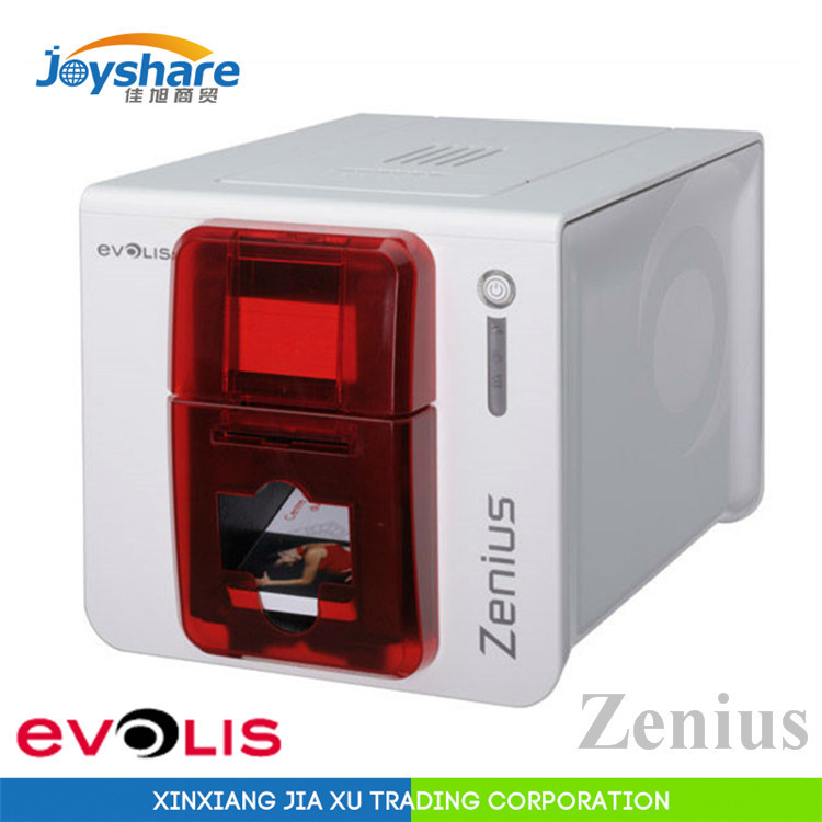 Evolis Zenius Industrial Business Card Printer For Pvc
