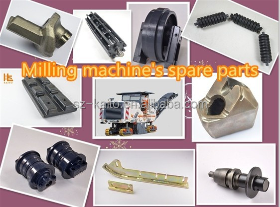 Wirtgen Milling machine spare parts on road construction