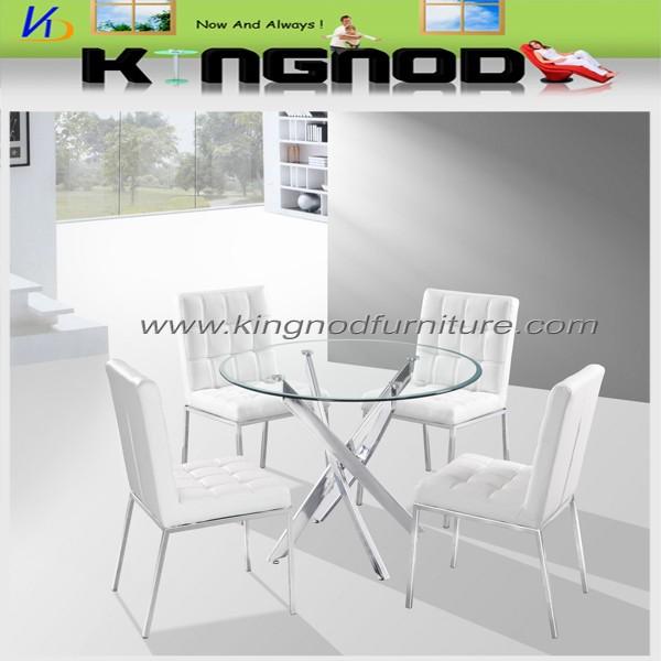 2015 best selling modern design economic dining table set 4 selling design