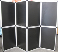 Cheap price high quality portable aluminium folding screen